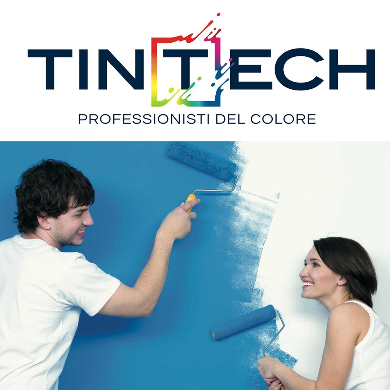Logo e payoff azienda Tintech