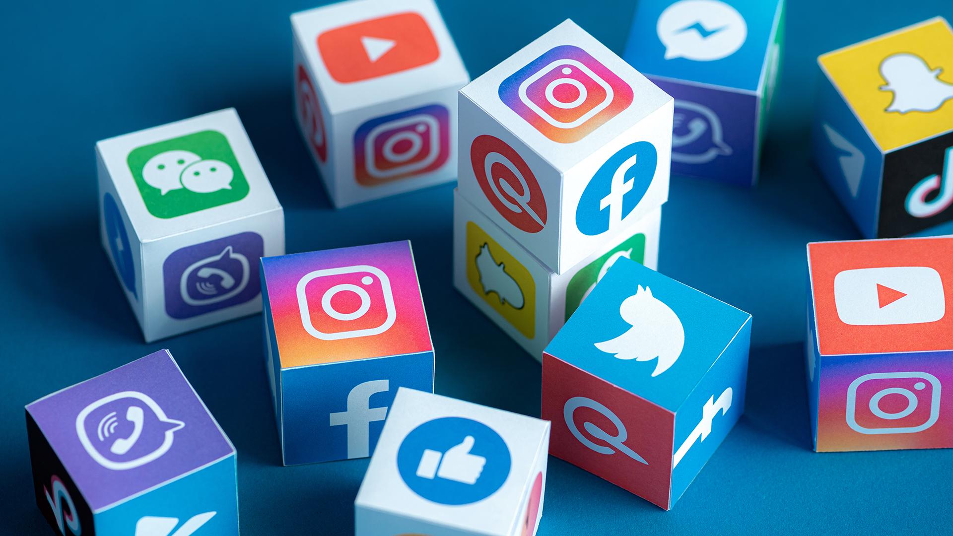 illustrazione app social network